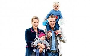 Ben Fogle and Family