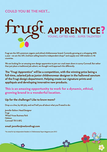 Could you work designing frugi clothes