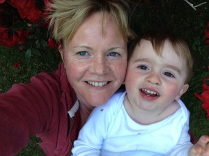 Frugi crusader Annie with her little boy Ashley