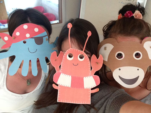 Fun Frugi character masks