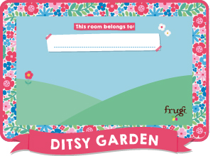picture about Free Printable Door Signs named Absolutely free Frugi Little ones Bed room Doorway Signs and symptoms Frugi