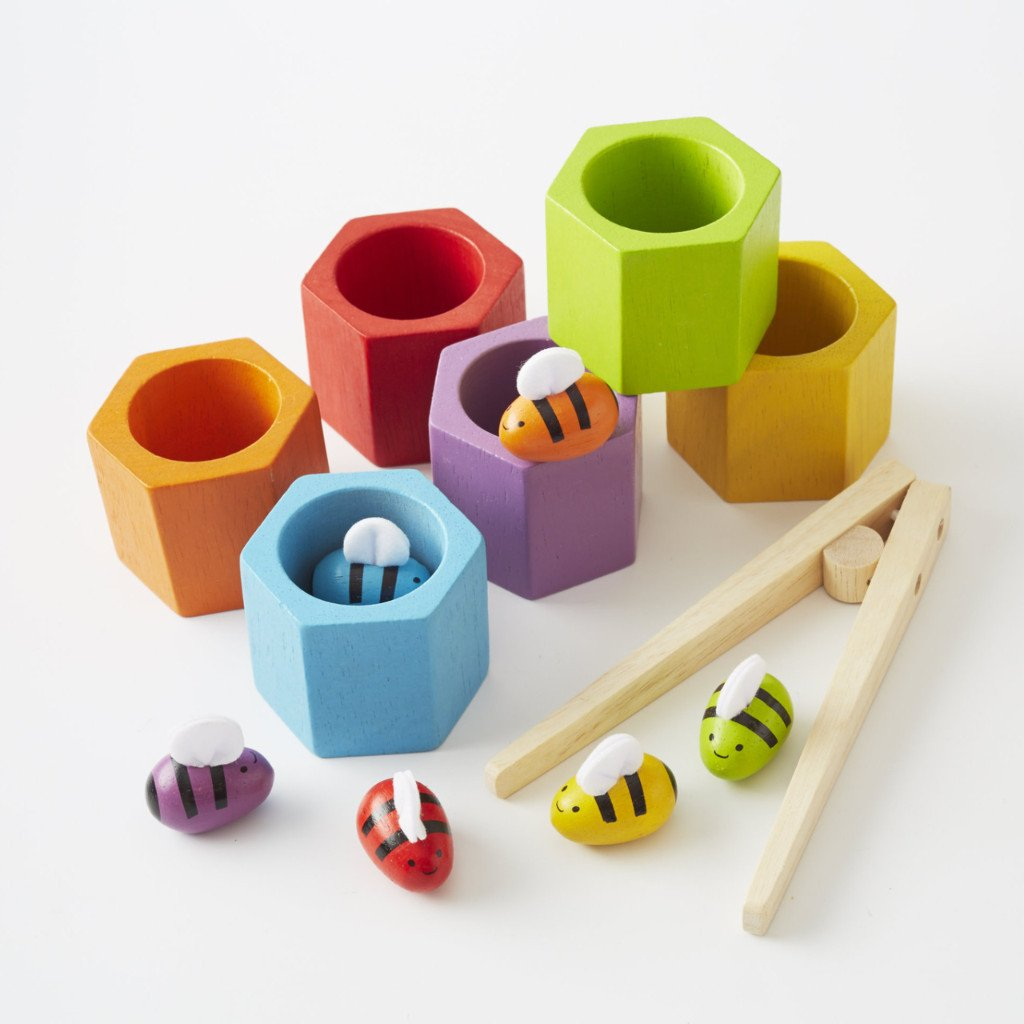 Beehives from Plan Toy