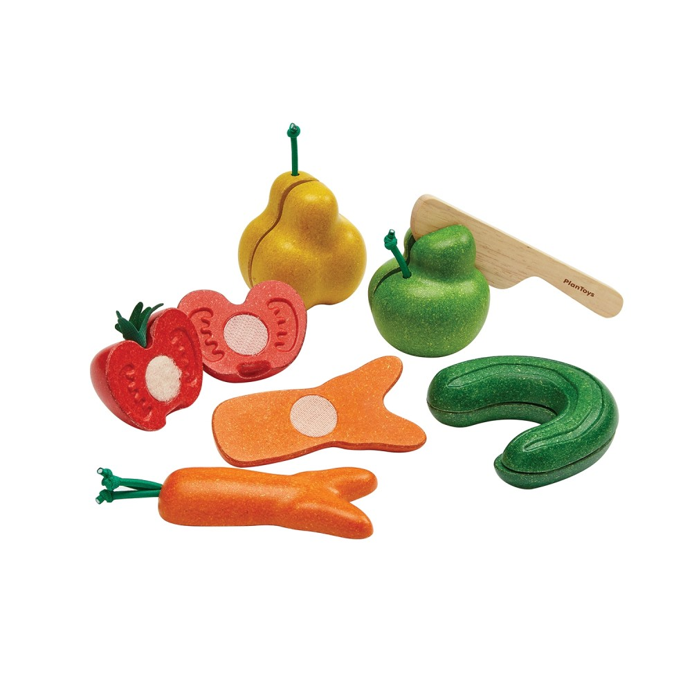 Wonky Fruit & Vegetables from Plan Toys