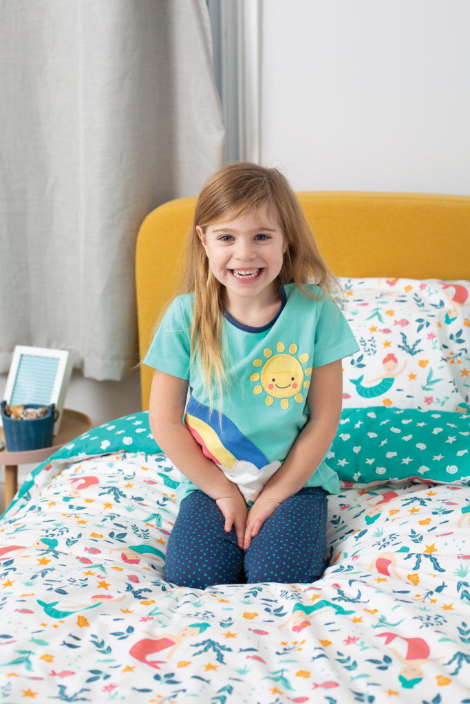 Frugi Cuddle up cot duvet set